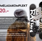 Raven Snowboards Lumelauakomplekt